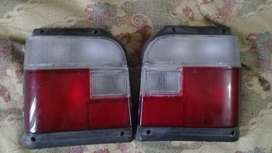 Mehran Back Lights Pair And Front Bumper For Urgent Sale