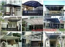 kanopi atap solarpet,bening aman dan yaman