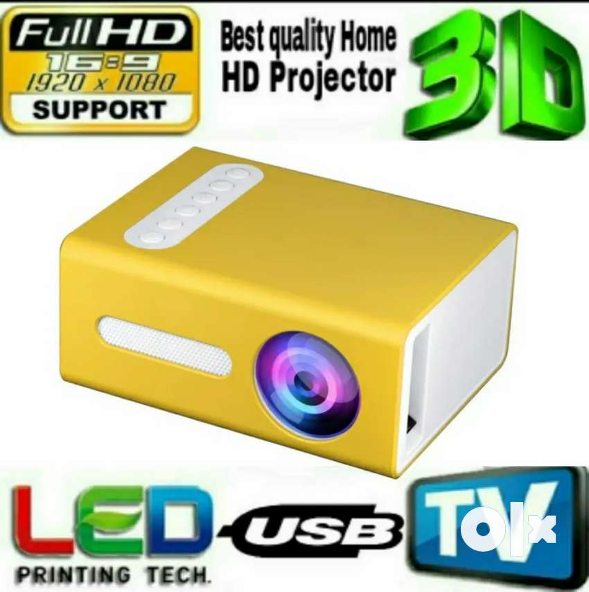 LOW PRICE BEST HOME CINEMA HD LED MULTIMEDIA VIDEO PROJECTOR USB HDMI 0