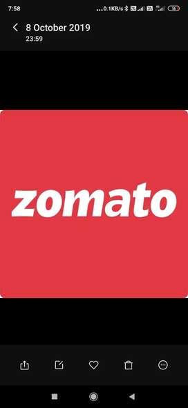 Zom Ato Delivery Partner