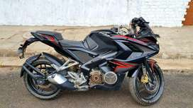 PULSAR RS200 FOR SALE LIKE NEW,LESS DRIVEN AND VIP NUMBER