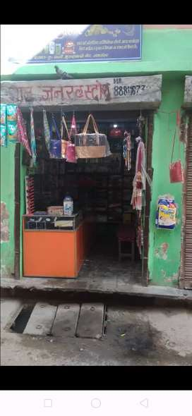 Very good area (On Road Market area) one shop