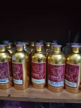 Botol botol bekas parfum