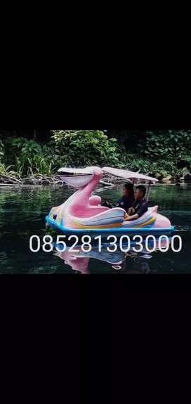 Sepeda air bebek, wahana air murah, perahu air bebek bebekan ready