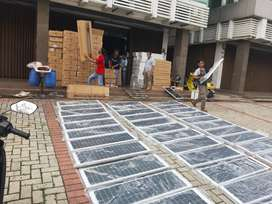 Lampu pju solar cell / lampu jalan solar cell led 40w 6000lm