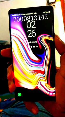 Samsung Note 9 halka sa Toch Crack hai . Bill milega