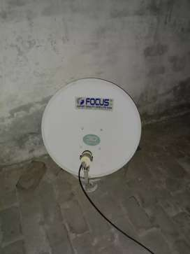 3 ft dish with KU band LNB