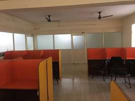 This is 1000 sqft fully furnishd 40 seatr bpo for rent in it park