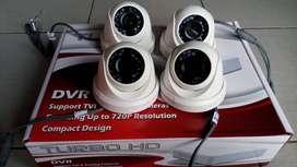 Kamera CCTV 4 KAMERA HD 2MP