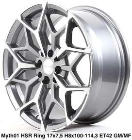 Velg MYTH01 HSR R17X75 H8X100-114,3 ET42