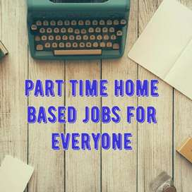 Part time job at your own place