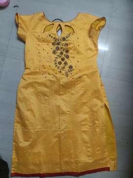 Stitching dresses