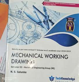 Mechanical engineering (Diploma) 3rd semester I scheme