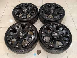 Velg Mobil Ring 20 JT02 Pcd 5x114,3 + Ban cocok Camry Xpander Hrv Juke