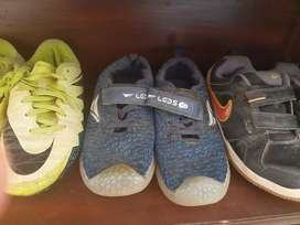 Kids football original imported shoes...selling it on throw away price