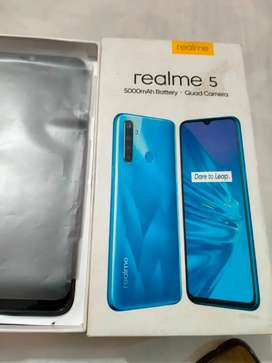 Realme 5 used good condision charger available .heandfree not availabl