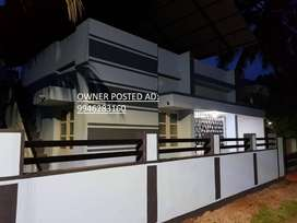 3 BHK Independent House in 7 cents at Kaithavana, Alappuzha - For sale