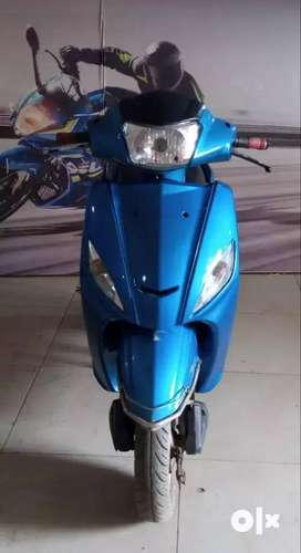 18524 Km driven Hero Maestro 2014 Model Blue colour