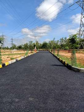 NEAR TO SRISAILAM HIGHWAY,150 SQ YARDS OPEN PLOTS FOR SALE