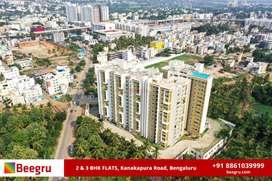 2 BHK & 3BHK FOR SALE in Kanakapura road, Bangalore