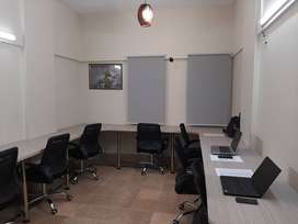 SHARED -COWORKING SPACE ON TARIQ ROAD