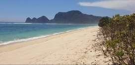 Tanah pinggir pantai Sekongkang Sumbawa barat