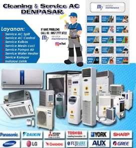 Cuci service AC di denpasar murah berkualitas