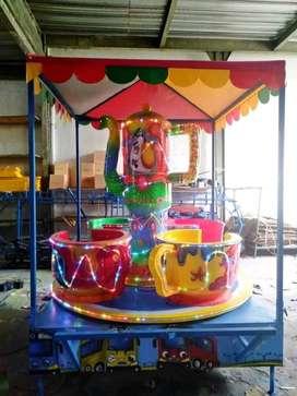 Produksi mainan odong odong komedi putar cangkir ready mini coaster UK