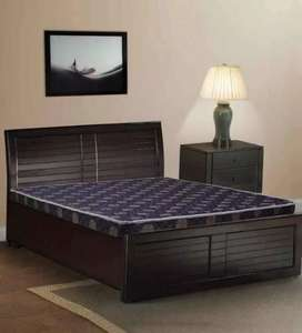 Double bed with box in very good condition