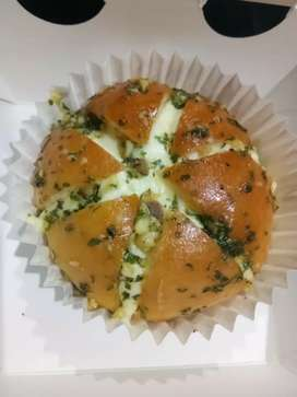 roti kekinian yg lg viral  'garlic bread'