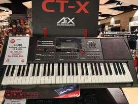 Casio Keyboard CTX 5000 cicilan tanpa CC  DP mulai 10% free admin
