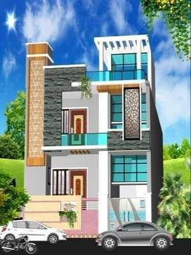 2Floor House (2 Manjila Makan) for Sale Ram Ganga Vihar Kanth Road MBD