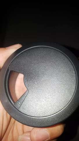 Lubang kabel Meja Grommet hitam termurah