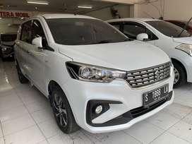 Suzuki Ertiga GX manual tahun 2020 warna putih Surabaya
