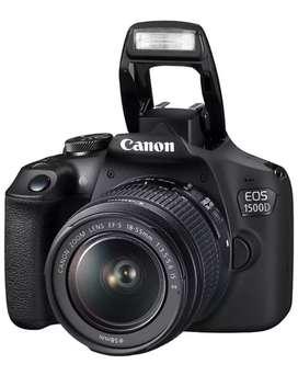 Canon1500D  Digital SLR Camera (Black)