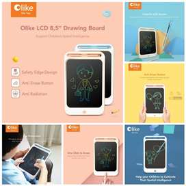 Olike LCD Drawing Board 8inch Papan Tulis Digital Mainan Alat Tulis