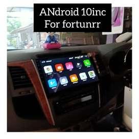 Sale promo audio//Head unit Android Fortuner 10inc