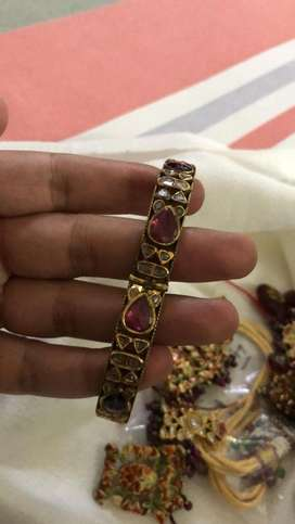 Real Gold Bangle kada