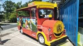 Komedi cangkir ek odong2 kereta mini wisata prosotan