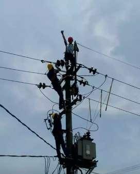 Pasang dan memperbaiki instalasi listrik