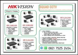 CCTV 2MP HIKVISION (2 CAMERA)