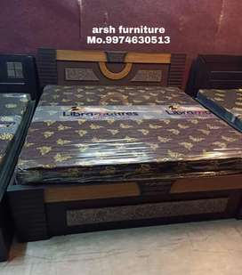Ad0090 dubbel bed plywood 6x5