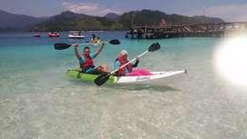 Perahu Kano / Kayak / Dayung - Untuk 2 orang