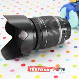 Lensa Canon EFS 18-200mm unit B (Kode D0122)