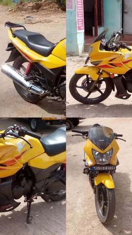 Hero Honda Karizma Yellow Color
