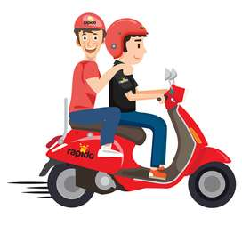 vadodara rapido need bike riders all over the city