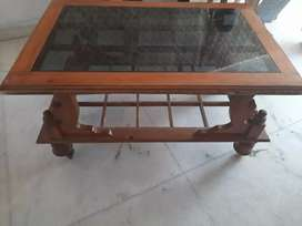 Typoi wooden with glass