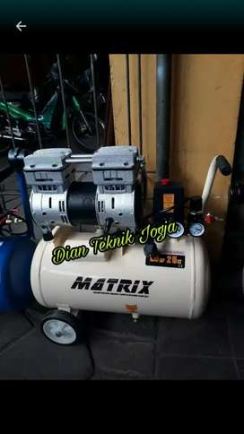 (Dian Teknik bka smp mlm) Kompresor 1 hp 25 ltr silent matrix