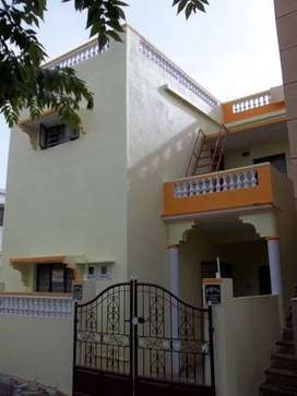 2 BHK North facing First floor house for Rent.