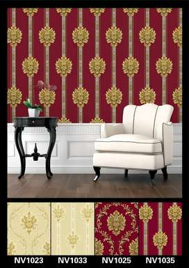 3D wallpaper and fitting labor